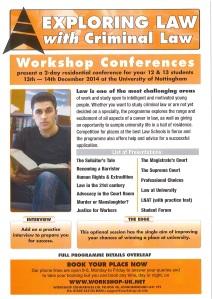 Law with criminal law workshop