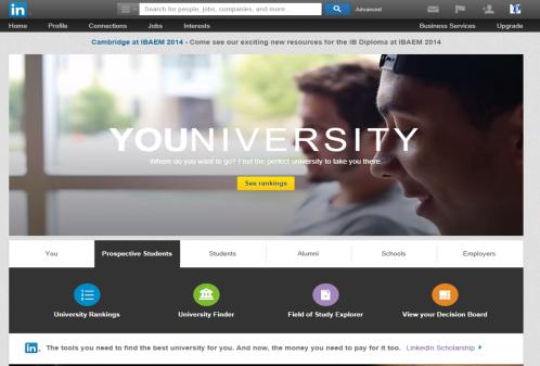 LinkedIn Univeristy research centre