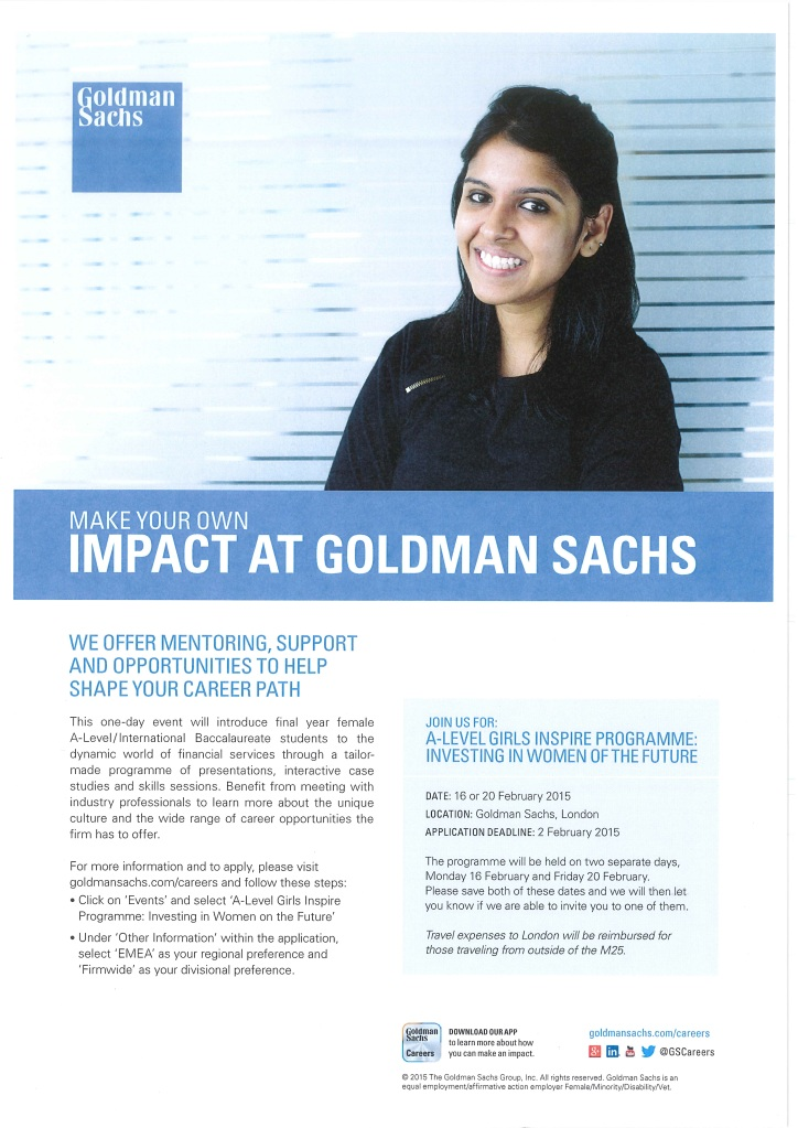 Goldman Sachs 2015