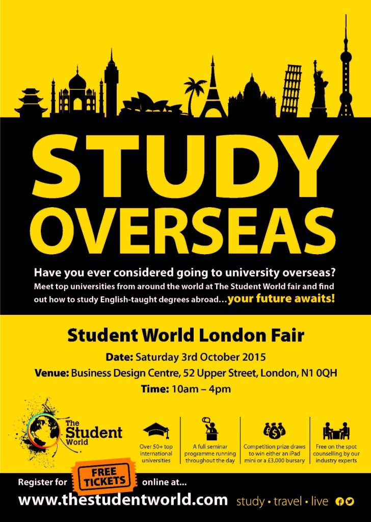 Study Overseas fair Oct 2015