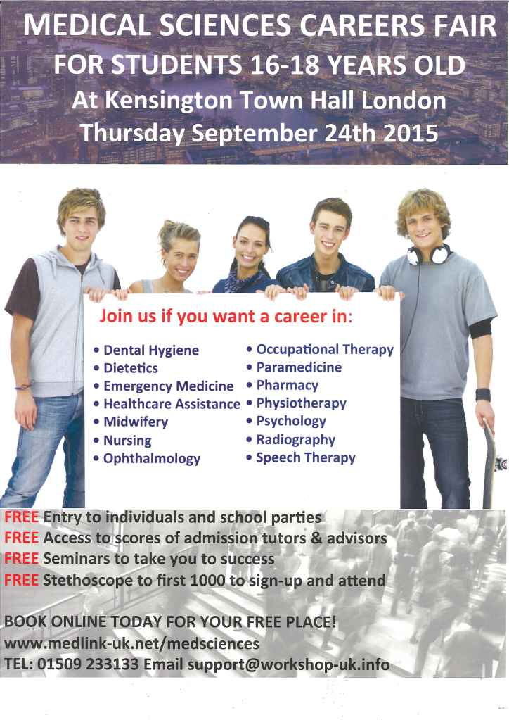 Medical Sciecnes Careers Fair