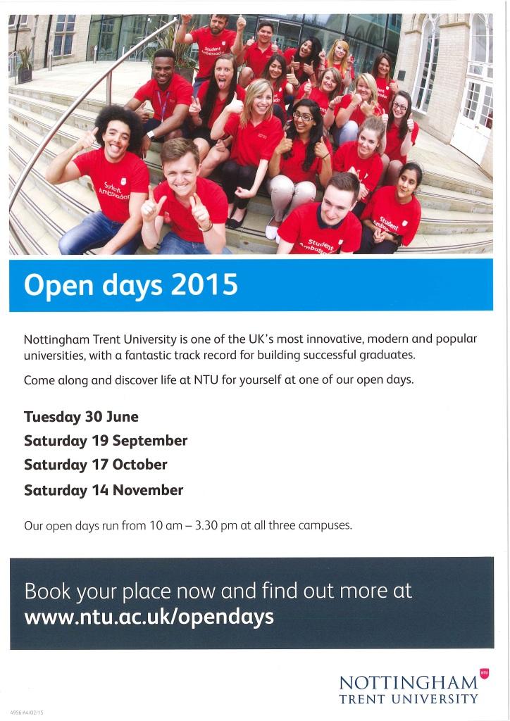 Nottingham Trent 2015