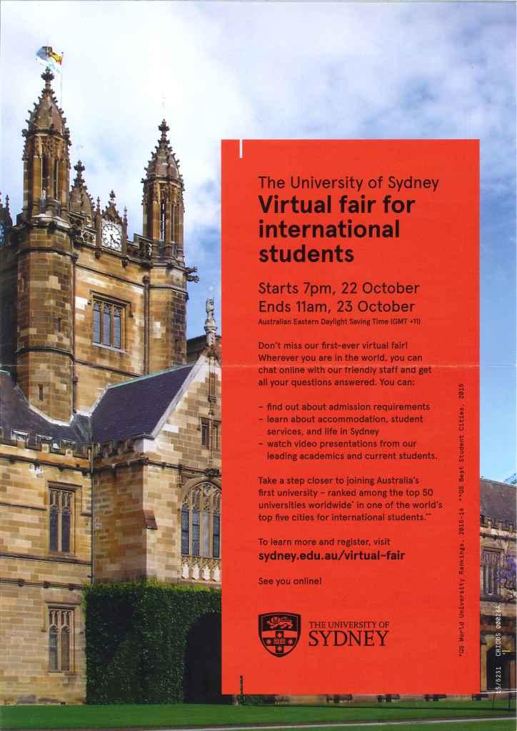 Sydney Virtual Fair