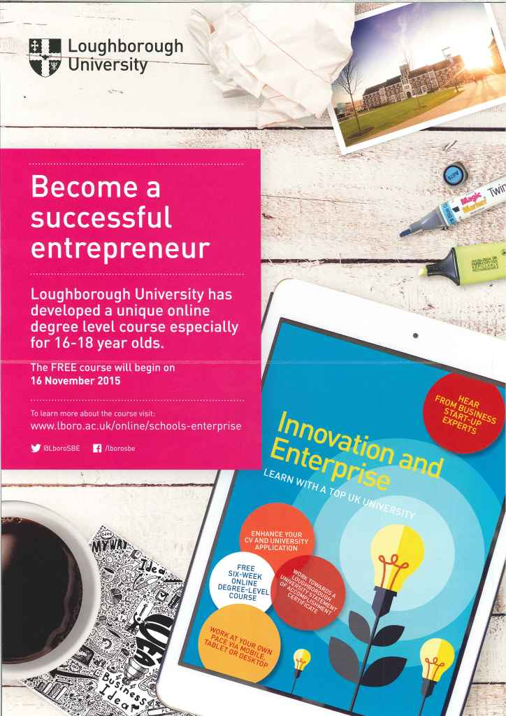 Loughborough Online entrepreneruship course