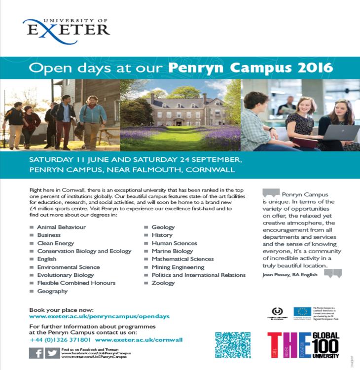 Exeter Penryn 2016