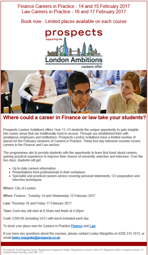 prospects-london-ambition-feb-2017
