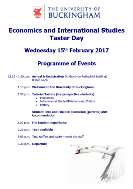 buckingham-econ-and-internatioanl-studies-taster-day-feb-2017-programme